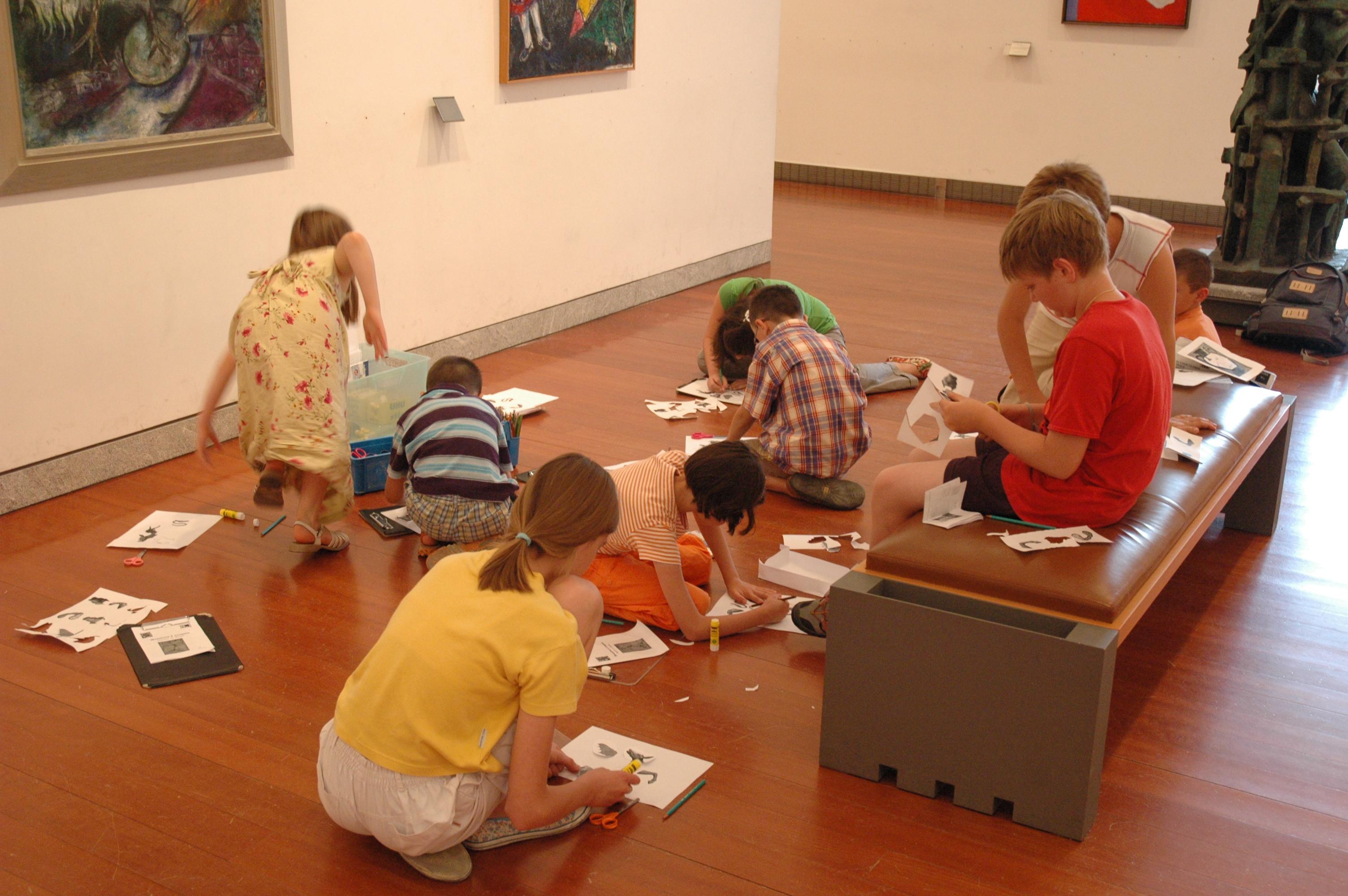 Visite-Atelier enfants dans les salles