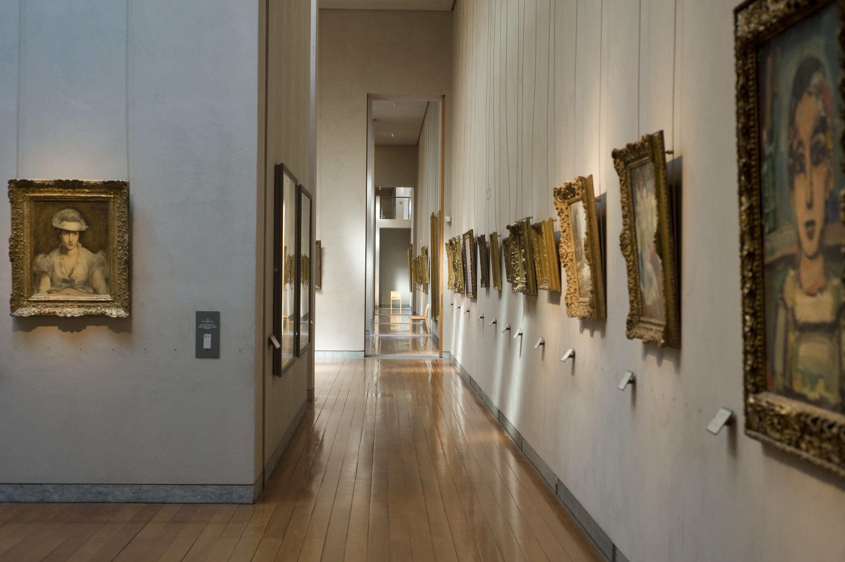 Vue des salles impressionnistes