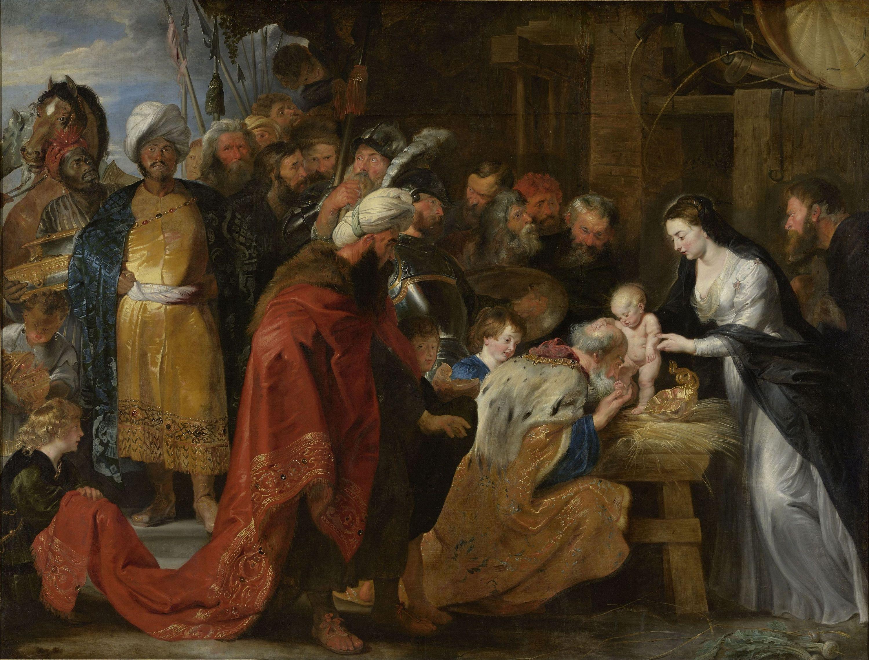 Peter Paul Rubens, Adoration des mages, vers 1617.