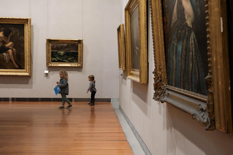 Petits pas au musée