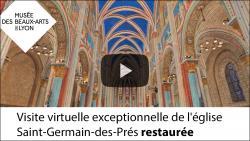 Visite virtuelle de l'église saint Germain des Prés