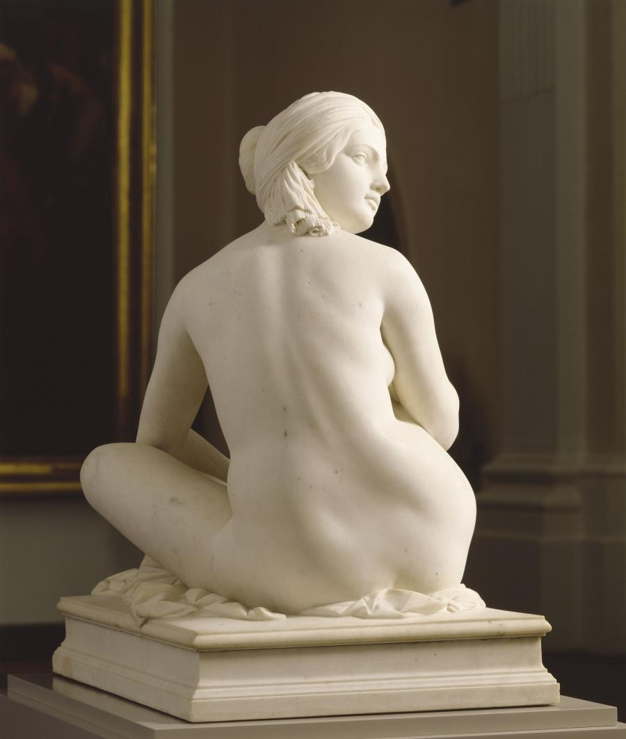 James Pradier, Odalisque,1841.