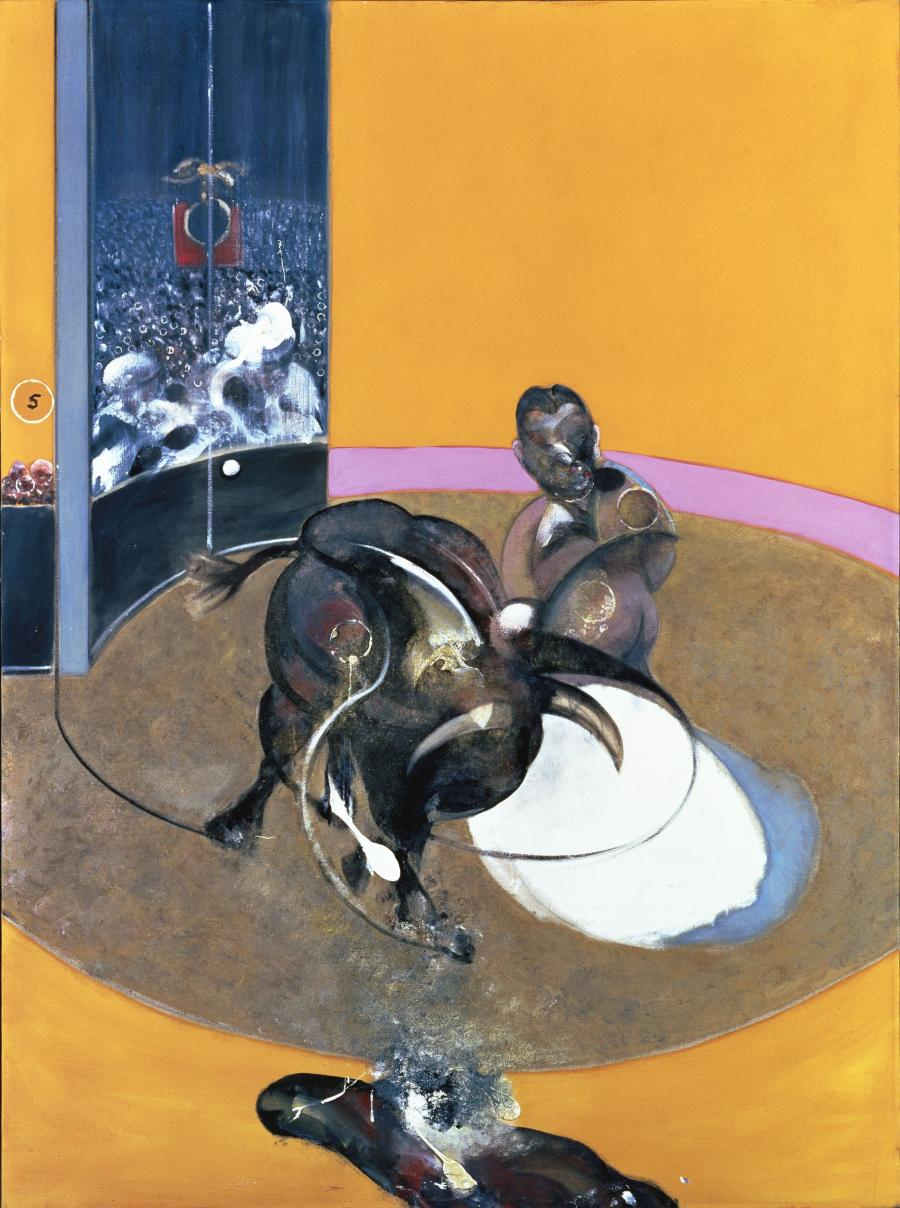 Francis Bacon, Etude pour une corrida, n° 2, 1969 © The Estate of Francis Bacon /All rights reserved / Adagp, Paris and DACS, London, 2020